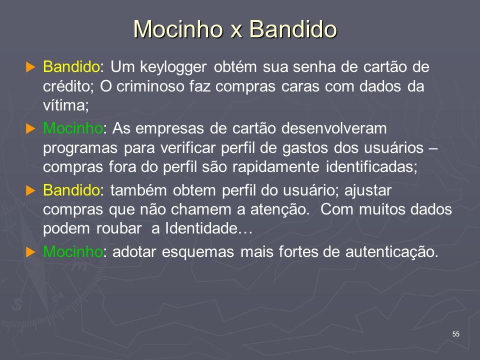 Mocinho x Bandido Bandido: Um keylogger obtém sua senha de cartão de crédito; O criminoso faz compras caras com dados da vítima;