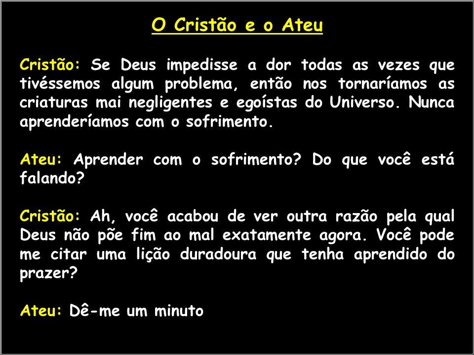 O Cristão e o Ateu