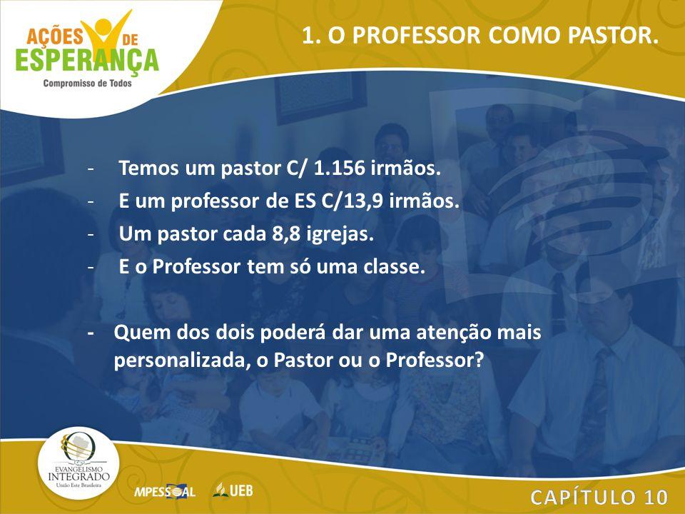 1. O PROFESSOR COMO PASTOR.