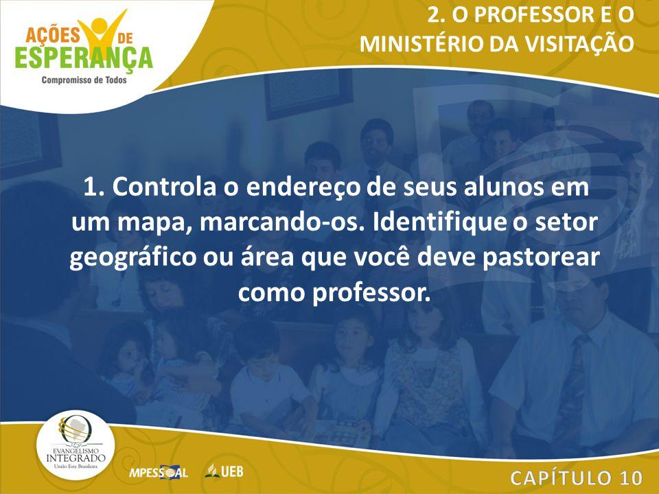 MINISTÉRIO DA VISITAÇÃO
