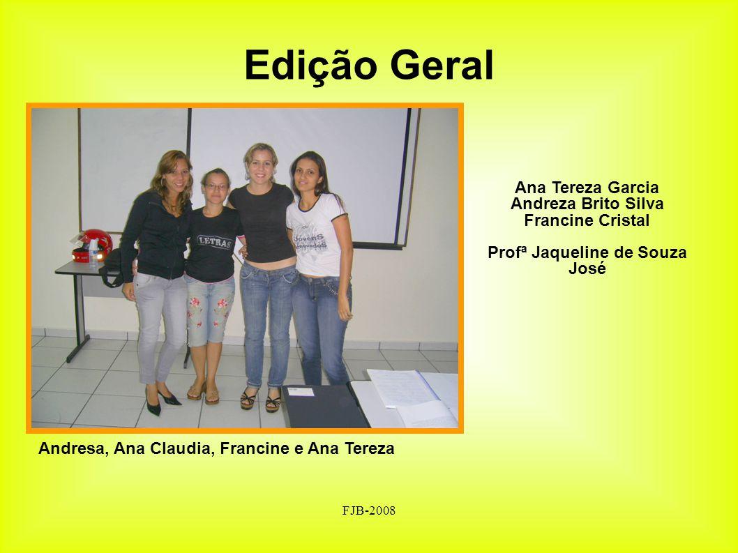 Profª Jaqueline de Souza José