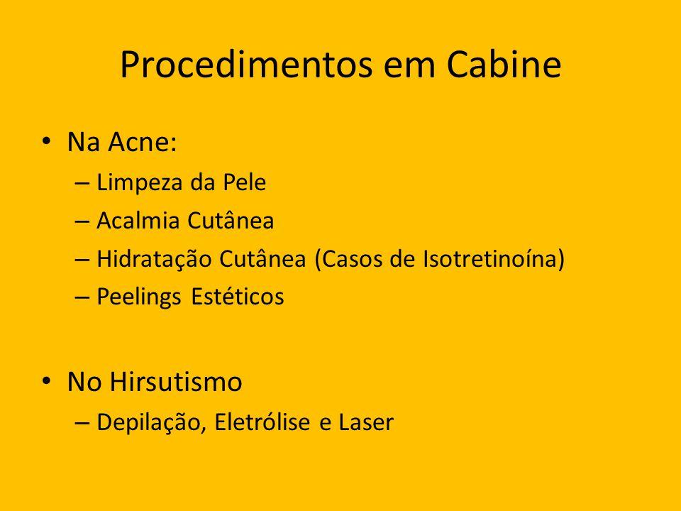 Procedimentos em Cabine