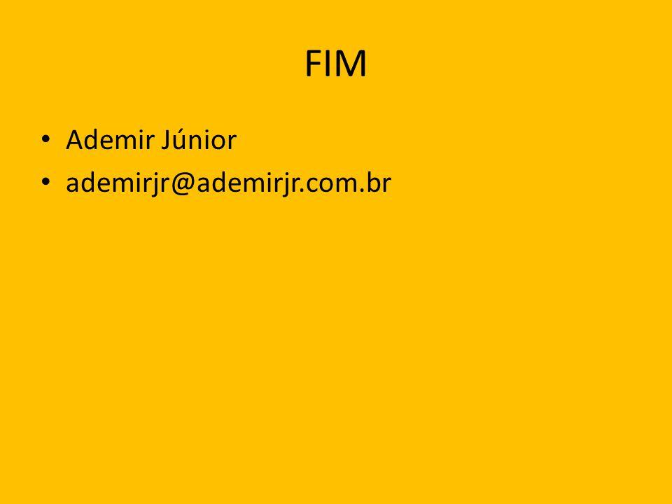 FIM Ademir Júnior ademirjr@ademirjr.com.br