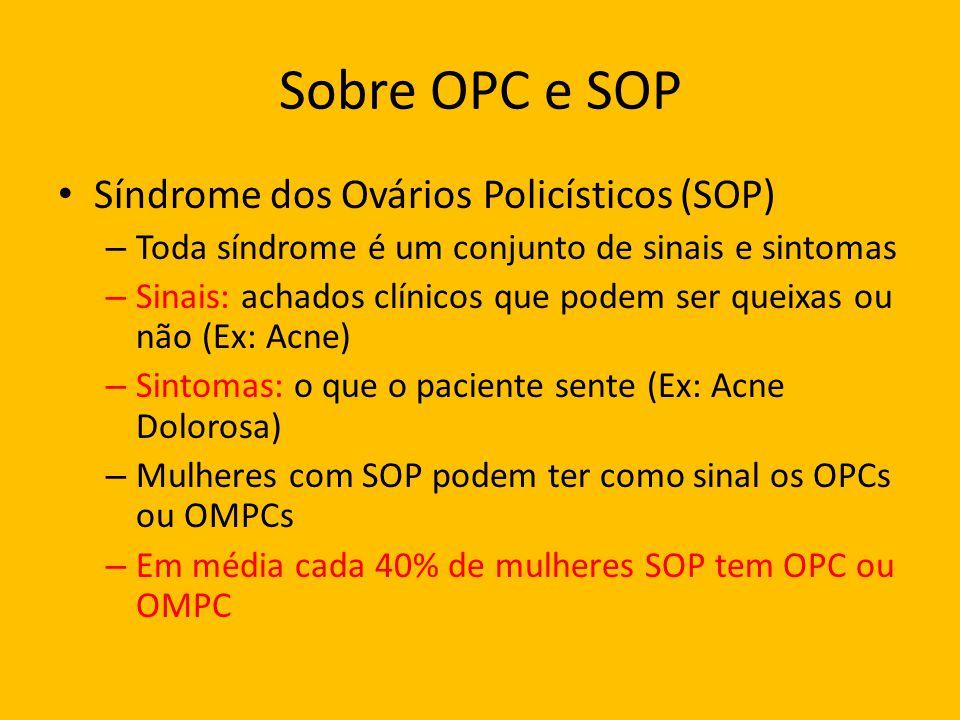 Sobre OPC e SOP Síndrome dos Ovários Policísticos (SOP)