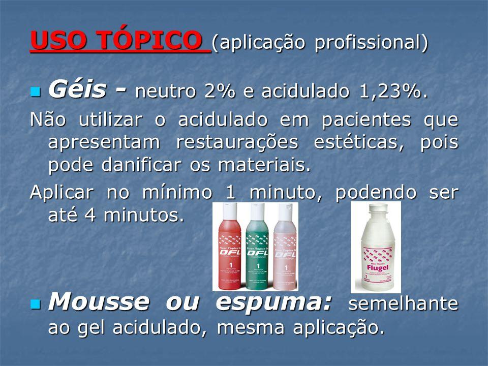 USO TÓPICO (aplicação profissional)