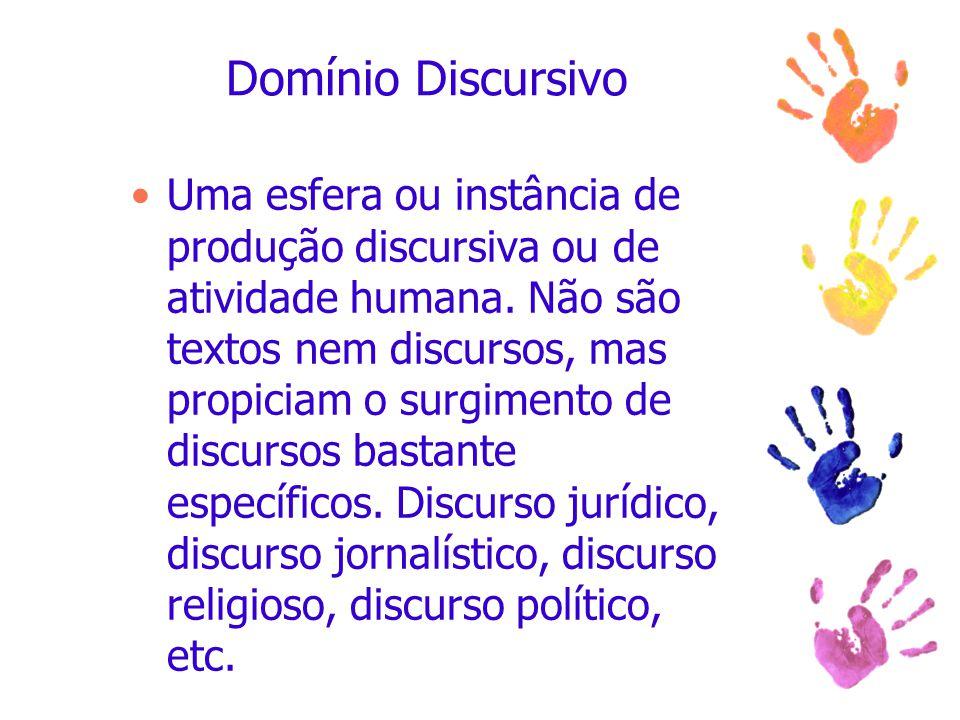 Domínio Discursivo