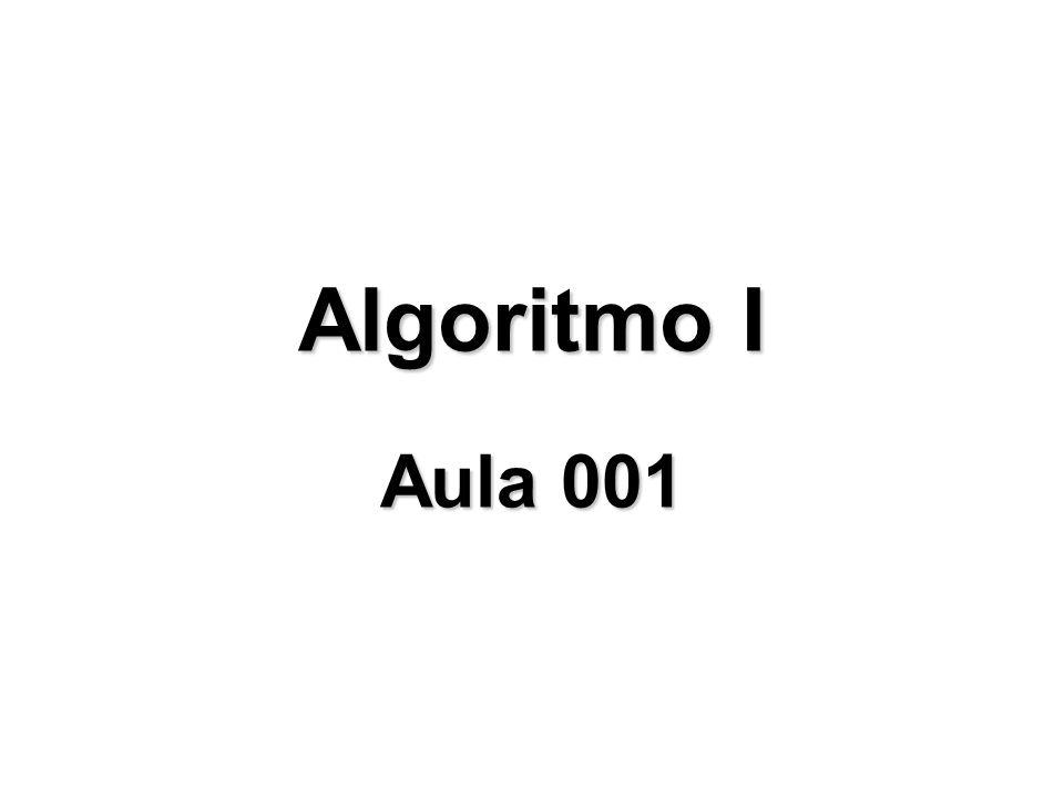 Faculdade Talentos Humanos - FACTHUS - Algoritmo I - Rogério Rodrigues