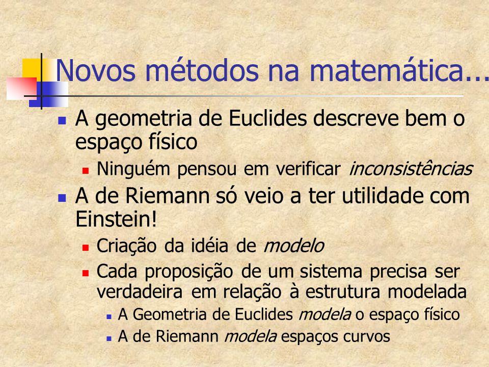 Novos métodos na matemática...