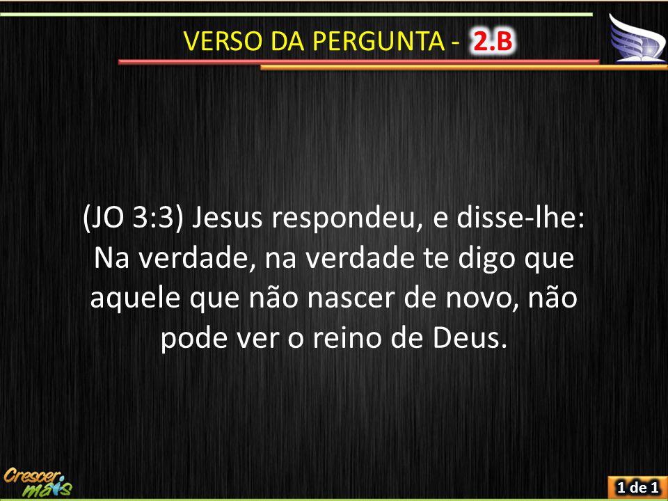 VERSO DA PERGUNTA - 2.B
