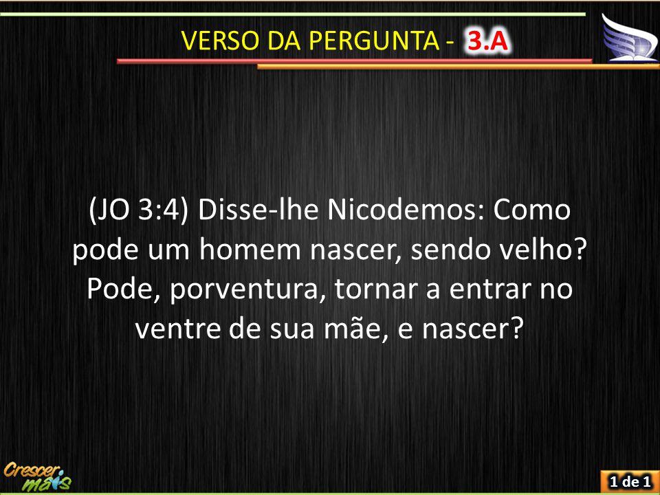 VERSO DA PERGUNTA - 3.A