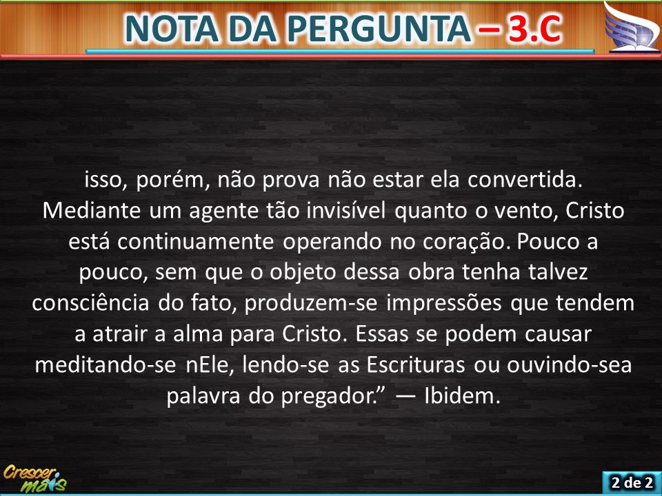 NOTA DA PERGUNTA – 3.C