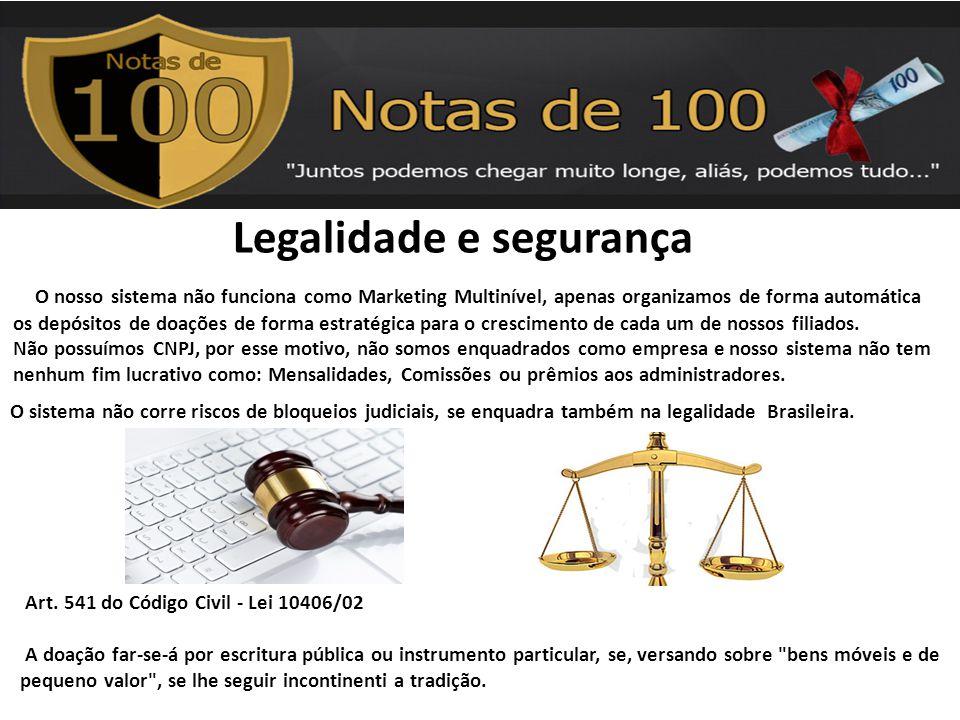 Legalidade e segurança