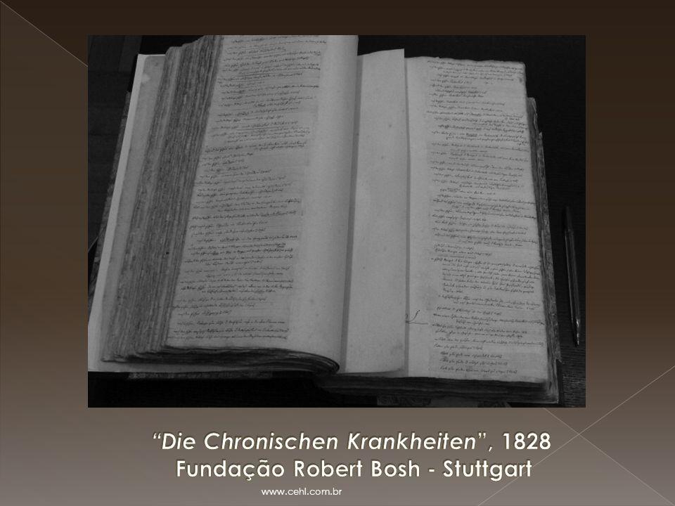 Die Chronischen Krankheiten , 1828 Fundação Robert Bosh - Stuttgart