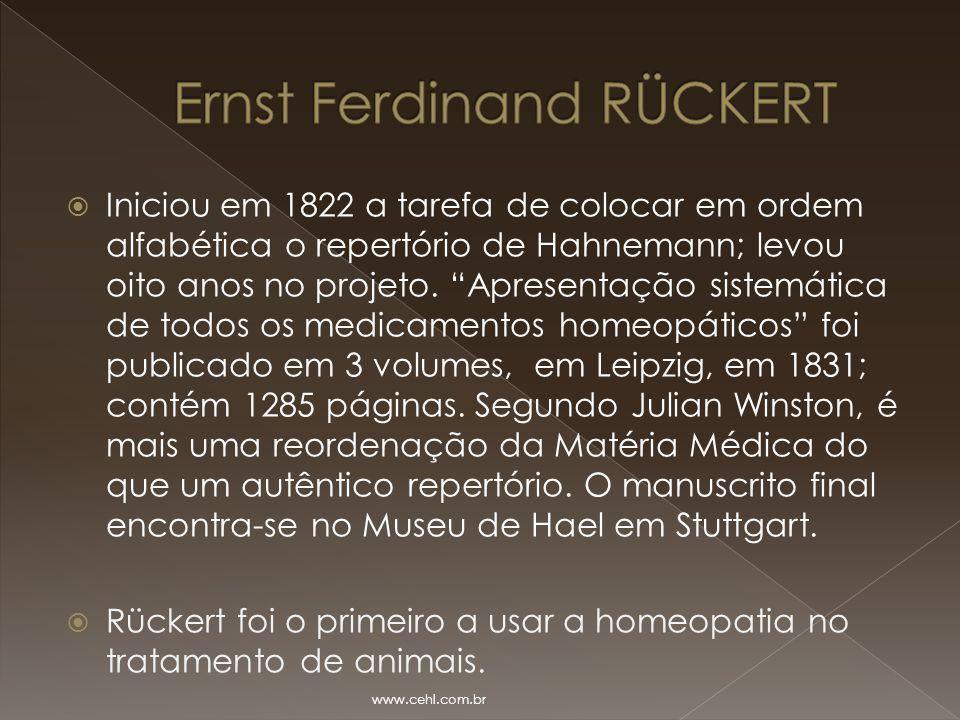 Ernst Ferdinand RÜCKERT