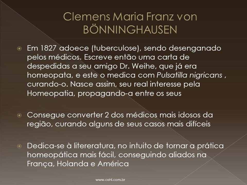 Clemens Maria Franz von BÖNNINGHAUSEN