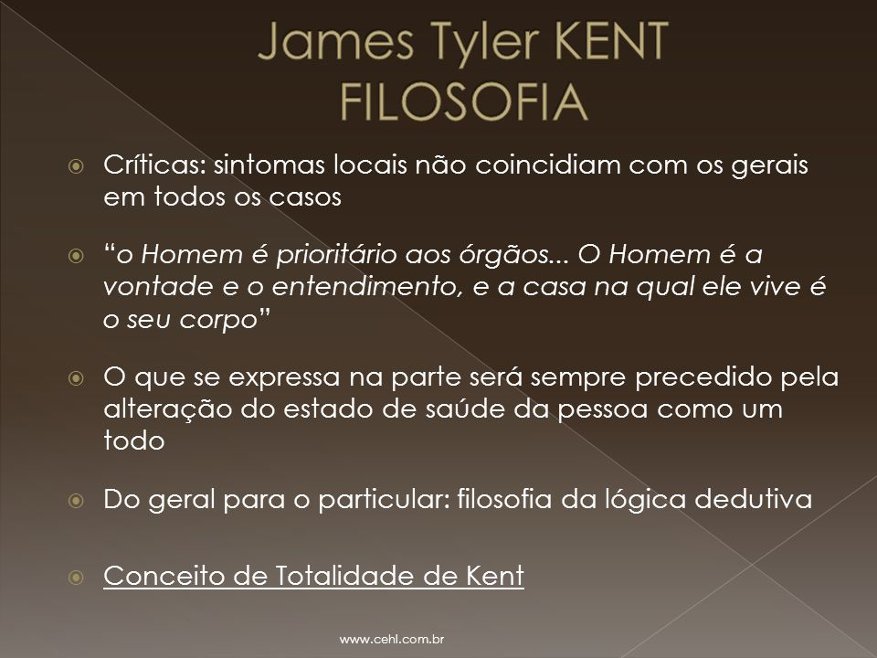 James Tyler KENT FILOSOFIA
