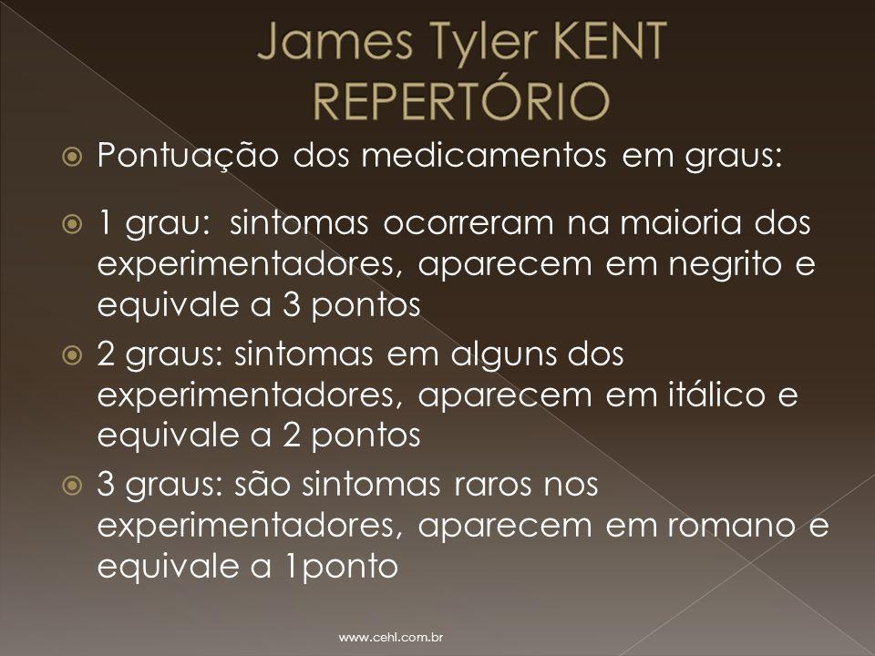 James Tyler KENT REPERTÓRIO