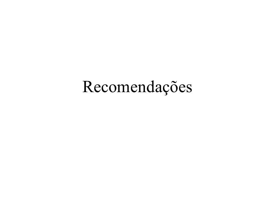Recomendações