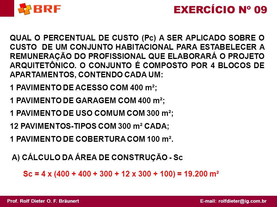 EXERCÍCIO Nº 09