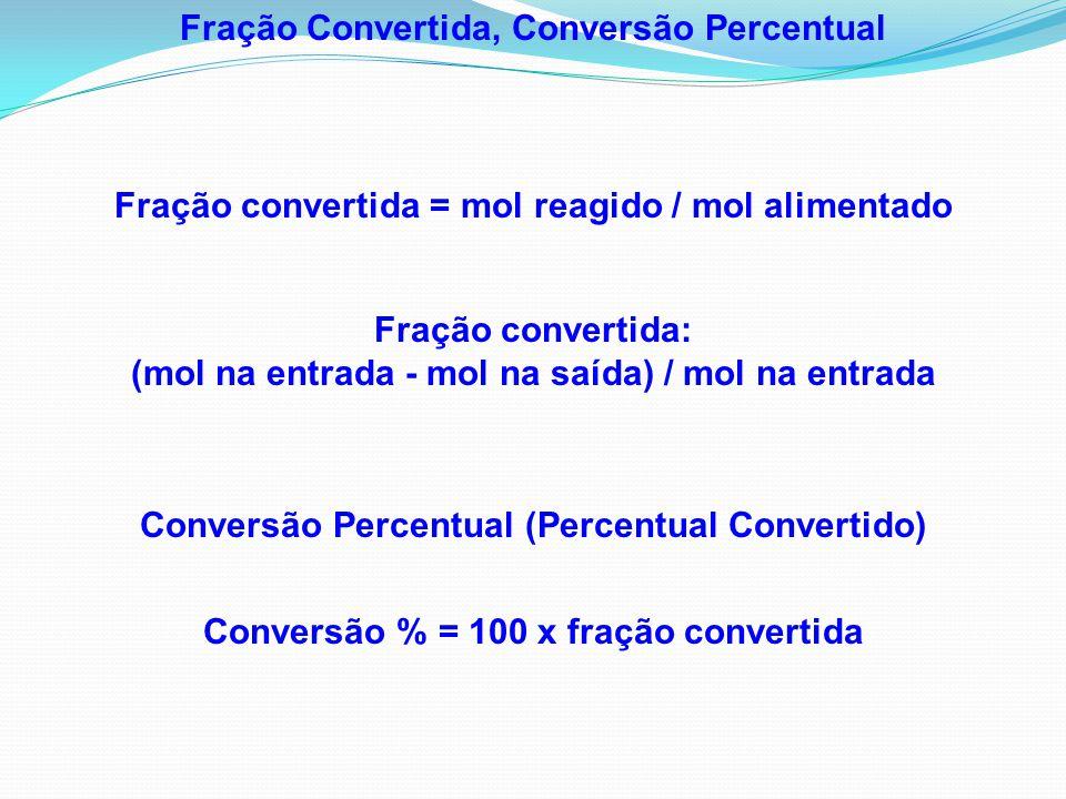 Fração Convertida, Conversão Percentual