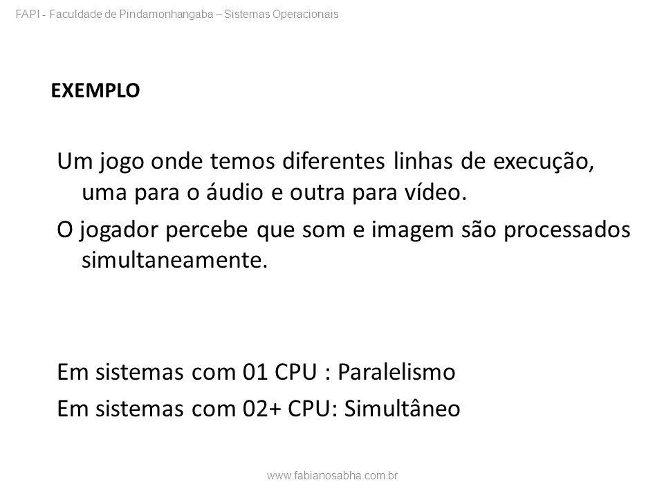 FAPI - Faculdade de Pindamonhangaba – Sistemas Operacionais