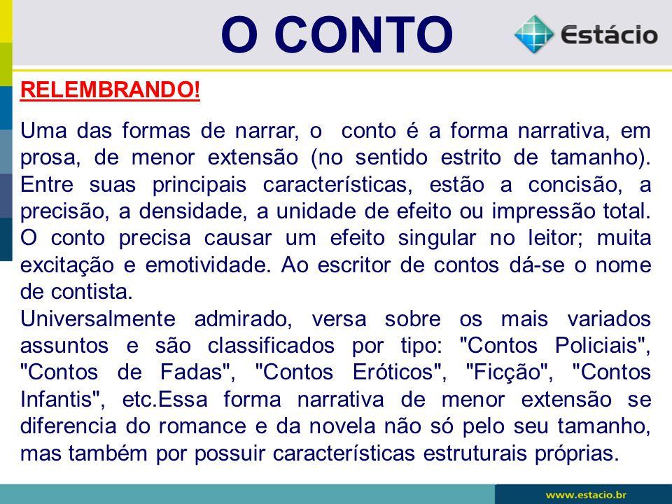 O CONTO RELEMBRANDO!