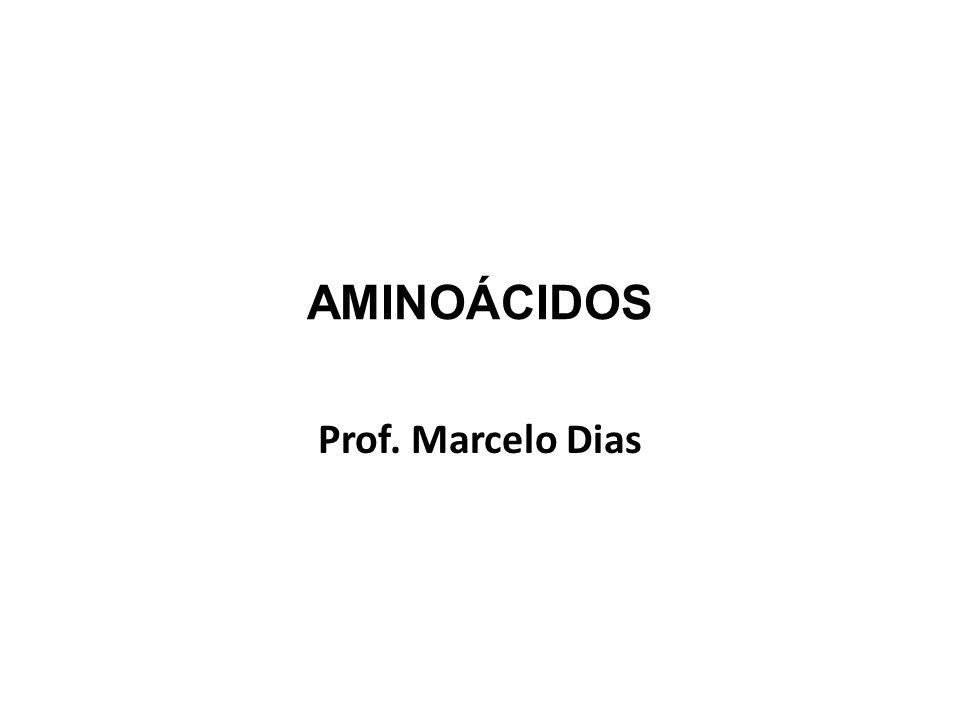 AMINOÁCIDOS Prof. Marcelo Dias
