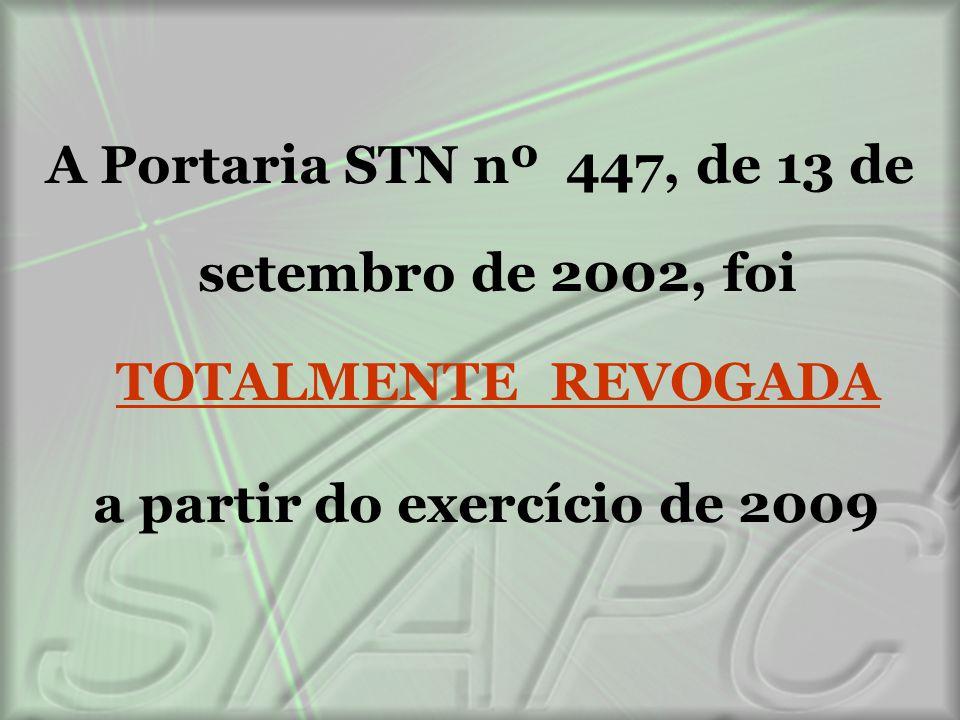 a partir do exercício de 2009
