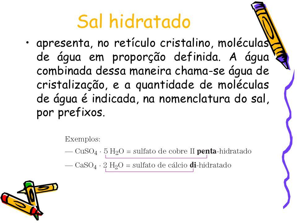 Sal hidratado