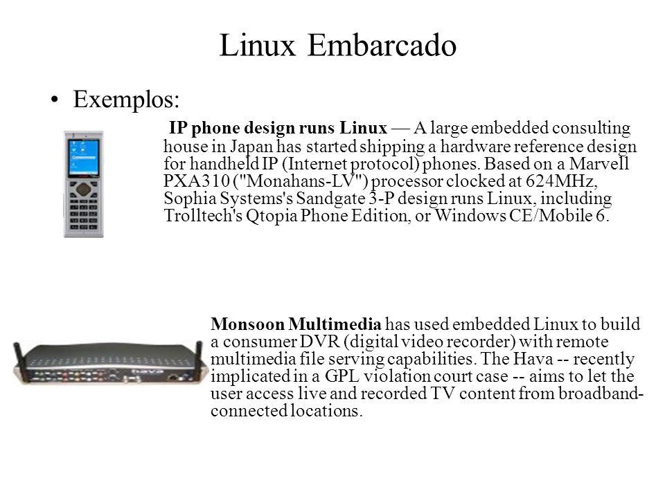 Linux Embarcado Exemplos: