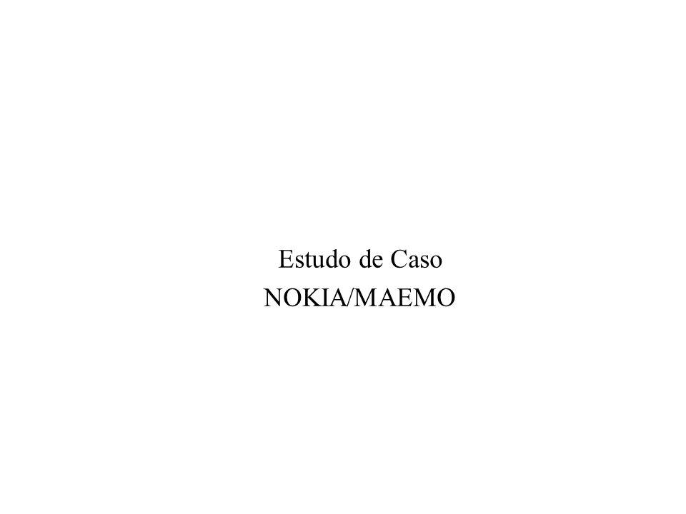 Estudo de Caso NOKIA/MAEMO