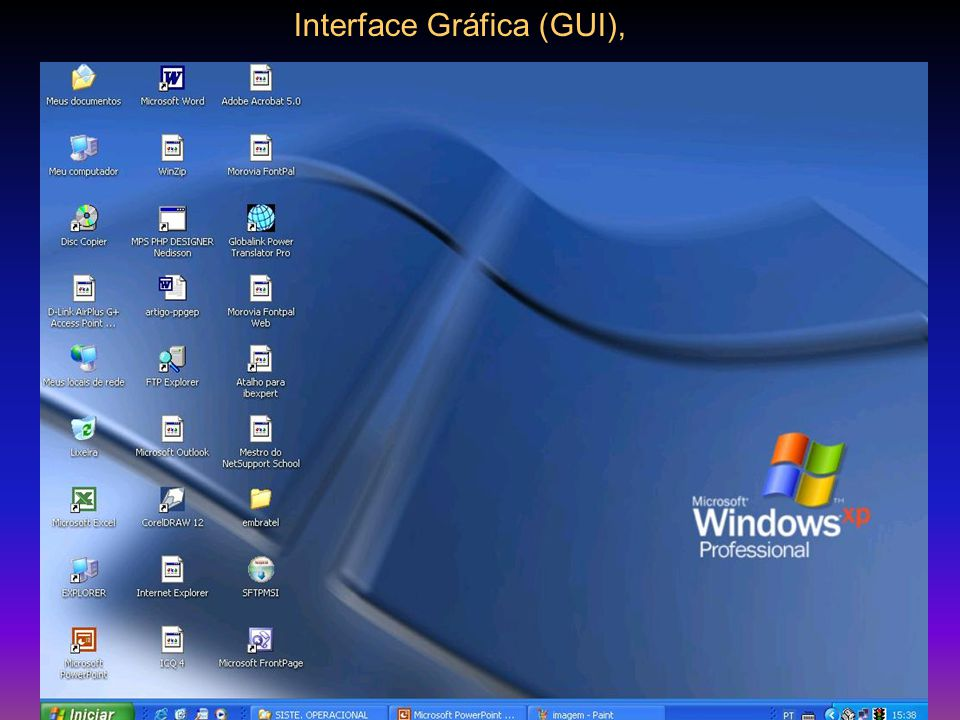 Interface Gráfica (GUI),