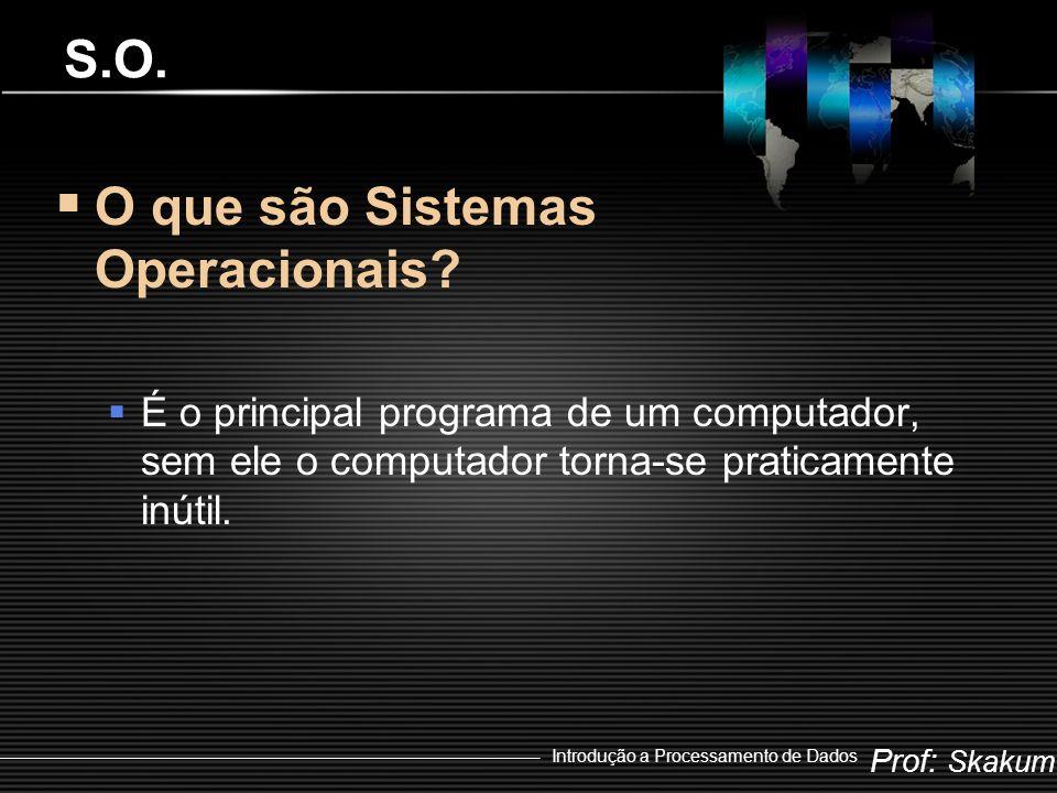 O que são Sistemas Operacionais