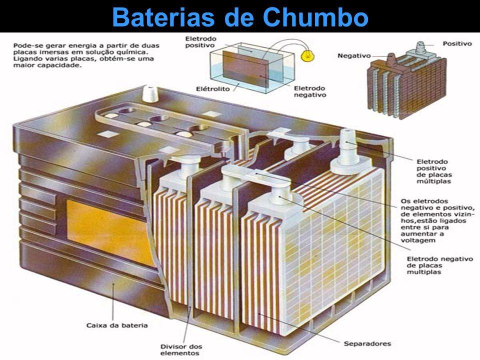 Baterias de Chumbo