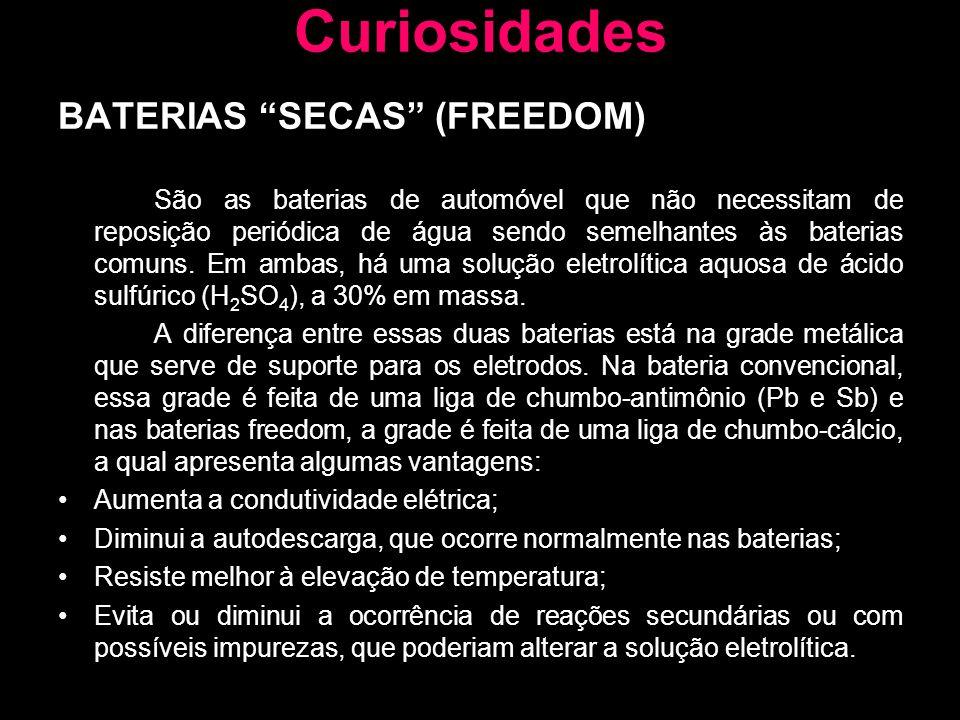 Curiosidades BATERIAS SECAS (FREEDOM)