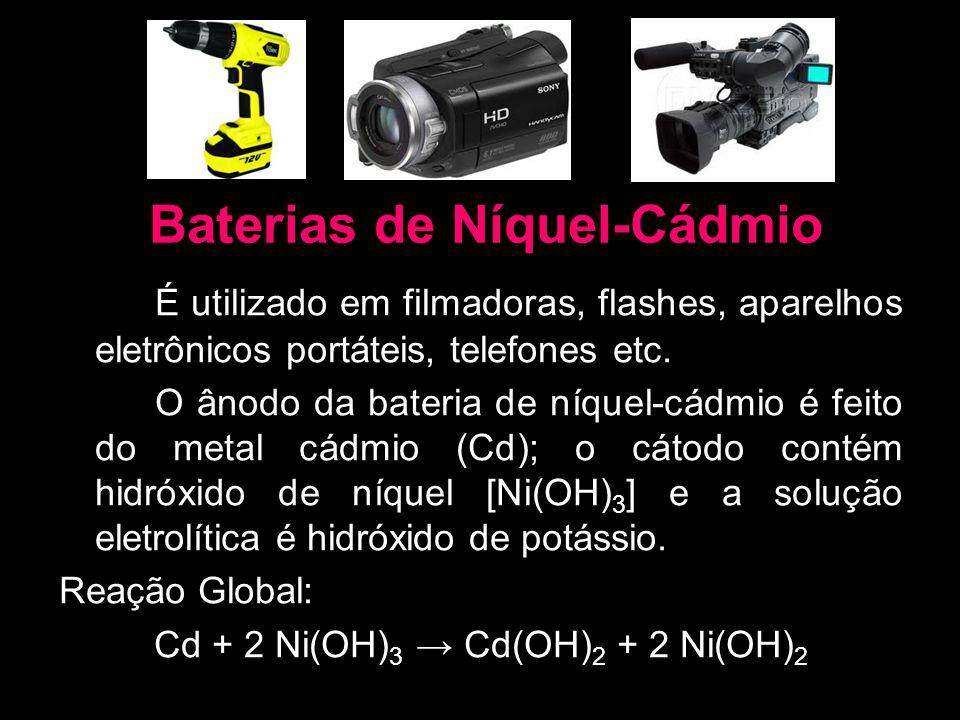 Baterias de Níquel-Cádmio