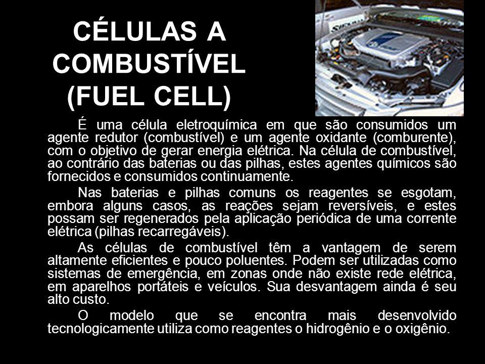 CÉLULAS A COMBUSTÍVEL (FUEL CELL)