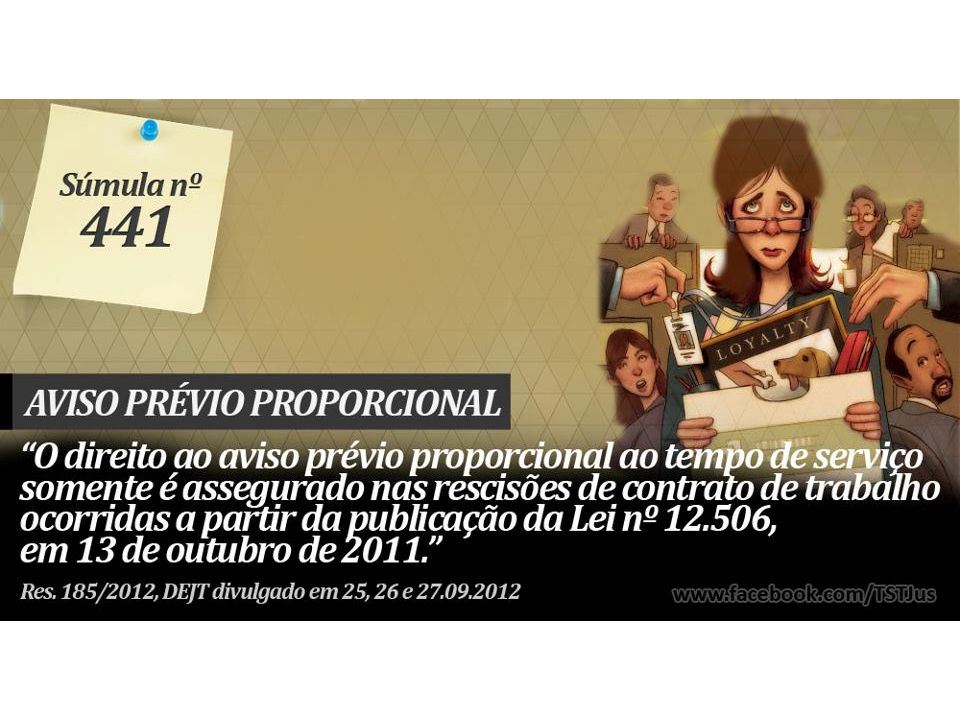 AVISO PRÉVIO. PROPORCIONALIDADE - Res