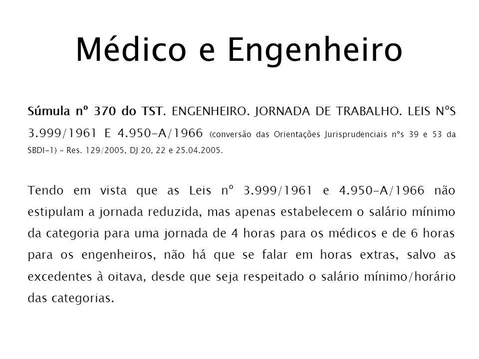 Médico e Engenheiro