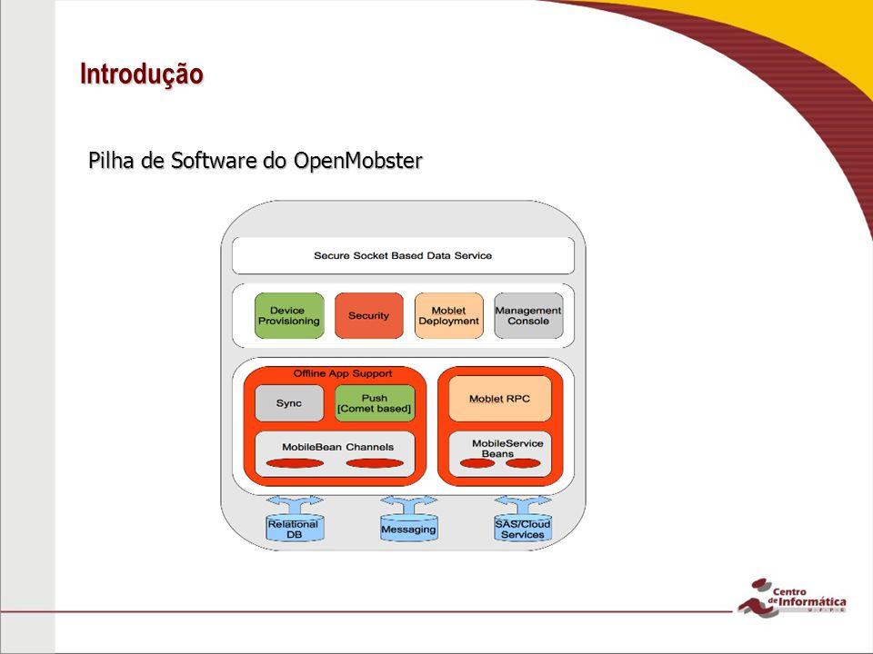 Introdução Pilha de Software do OpenMobster