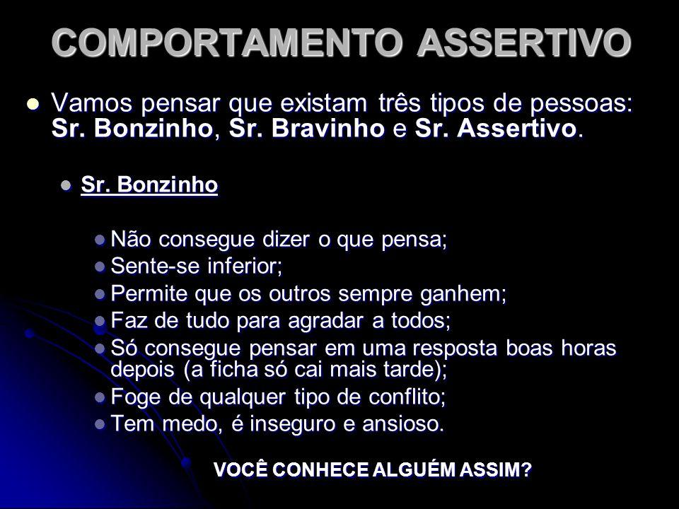 COMPORTAMENTO ASSERTIVO