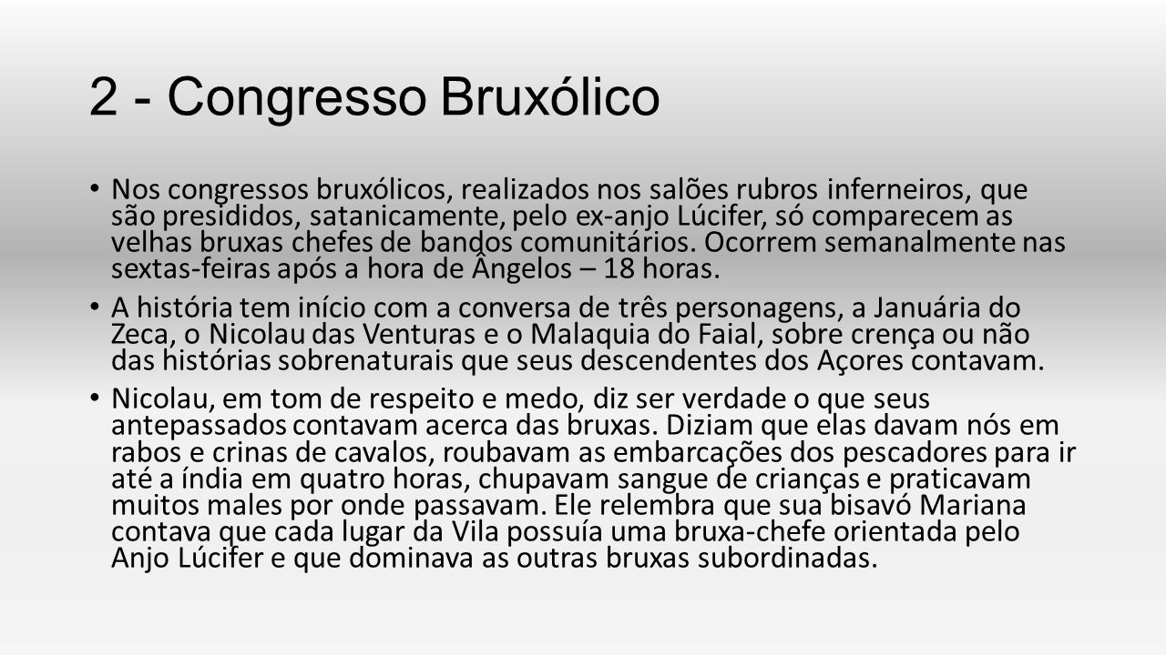 2 - Congresso Bruxólico