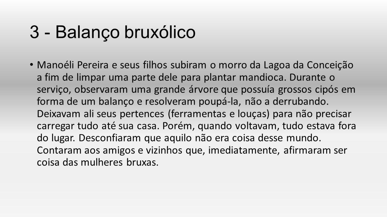 3 - Balanço bruxólico