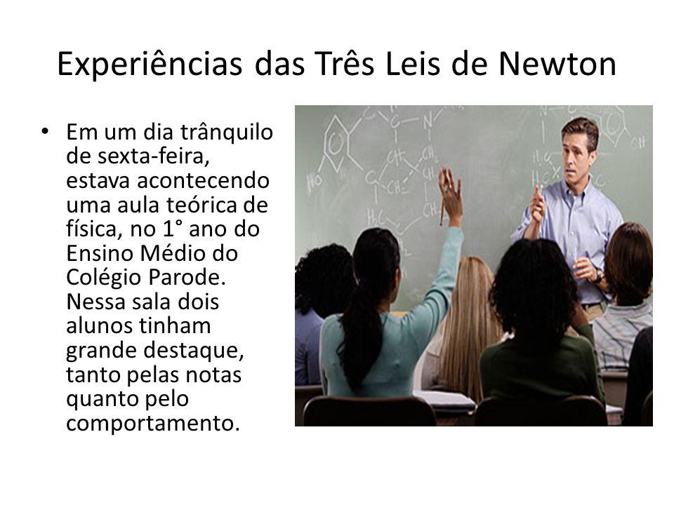 Experiências das Três Leis de Newton