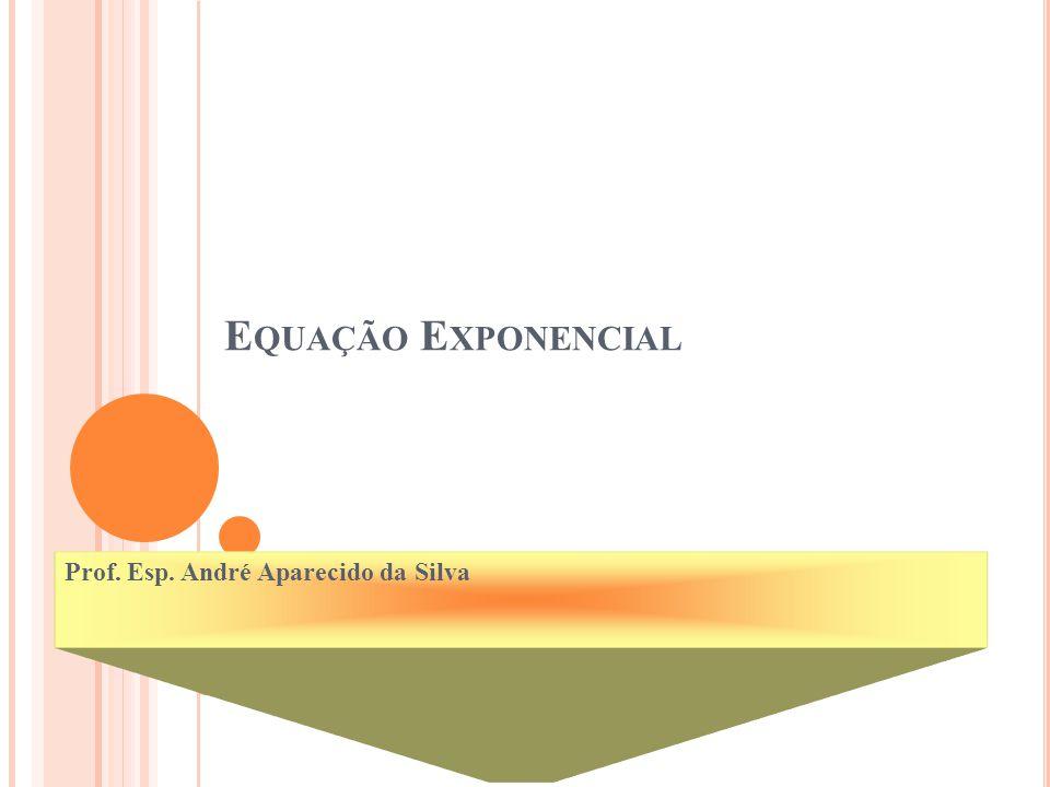 Prof. Esp. André Aparecido da Silva