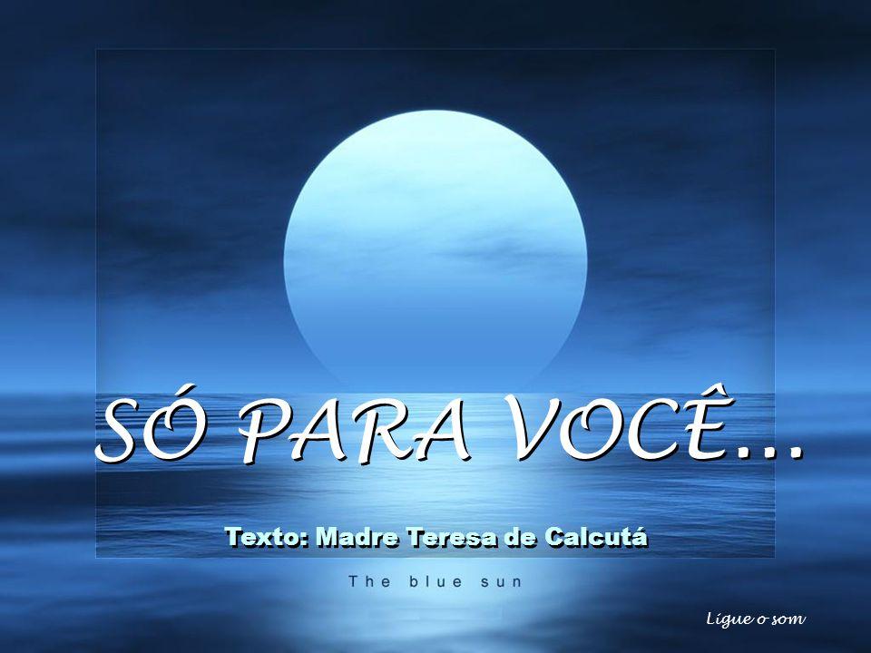 Texto: Madre Teresa de Calcutá