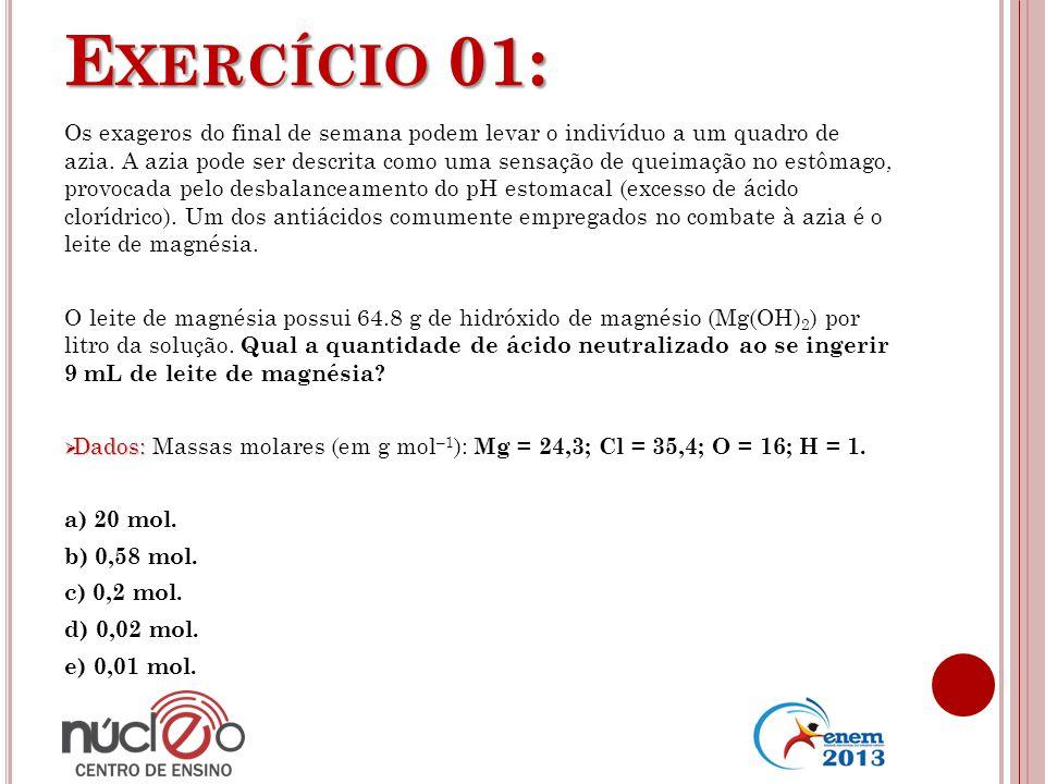 Exercício 01: