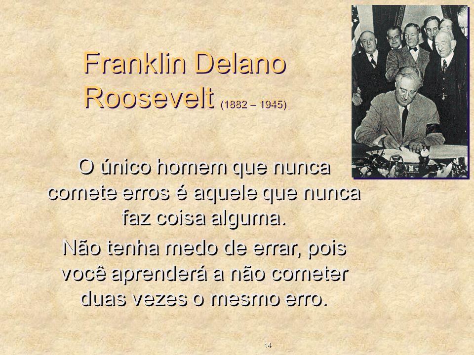 Franklin Delano Roosevelt (1882 – 1945)