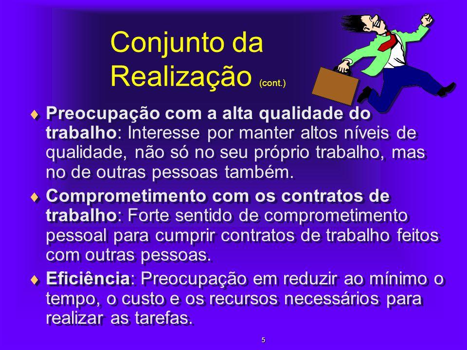 Conjunto da Realização (cont.)