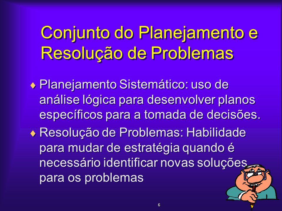 Conjunto do Planejamento e Resolução de Problemas